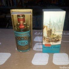 Miniaturas de perfumes antiguos: PERFUME 4711 EDICIÓN ANTIGUA COMPLETA 50CM3. Lote 211660806