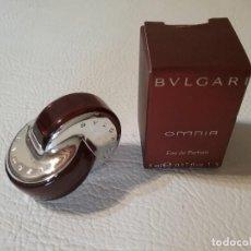 Miniaturas de perfumes antiguos: MINIATURA DE EAU DE PARFUM BVLGARI OMNIA.. Lote 212195890