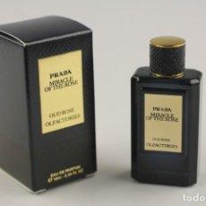 Miniaturas de perfumes antiguos: EXCLUSIVIDAD 2019 !!! MINIATURA PRADA OLFACTORIES OUD ROSE MIRACLE OF THE ROSE EDP 10 ML. Lote 212271366