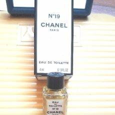 Miniaturas de perfumes antiguos: MINIATURA CON SU PERFUME DE CHANEL. Lote 212643525