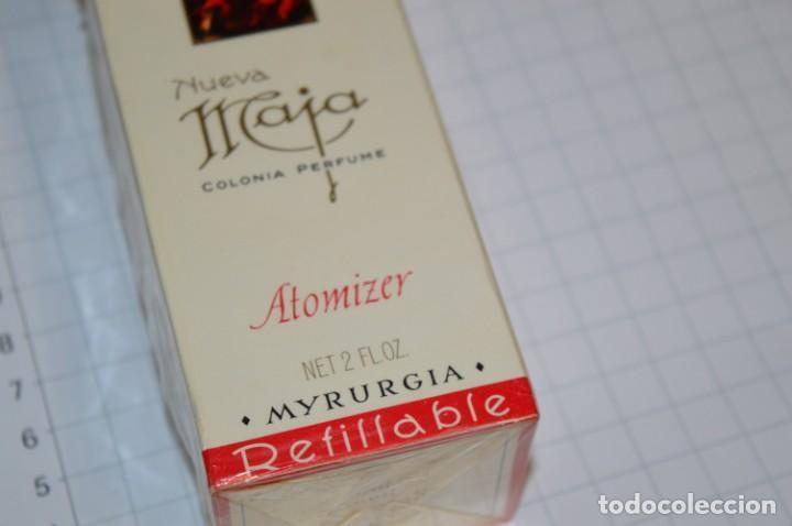 Miniaturas de perfumes antiguos: ANTIGUO FRASCO COLONIA / PERFUME - MAJA de MYRURGIA - NUEVA, en su caja precintada - ¡Mira fotos! - Foto 6 - 212966711
