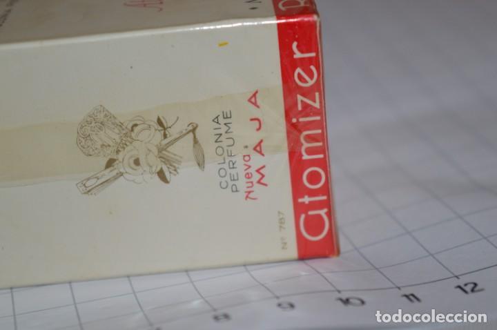 Miniaturas de perfumes antiguos: ANTIGUO FRASCO COLONIA / PERFUME - MAJA de MYRURGIA - NUEVA, en su caja precintada - ¡Mira fotos! - Foto 8 - 212966711
