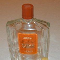 Miniaturas de perfumes antiguos: LEGRAIN - ROYALE AMBRÉE - LOTE 3 PERFUMES - 1 LITRO Y 2 CON PERFUME. Lote 213687848