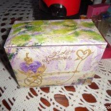Miniaturas de perfumes antiguos: ESTUCHE MINIATURA LALIQUE CARRITO. Lote 213908720