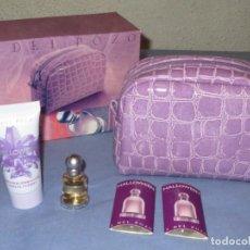 Miniaturas de perfumes antiguos: CAJA HALLOWEEN DE JESÚS DEL POZO, CON MINIATURA Y OTROS PRODUCTOS. NUEVO. Lote 213910880