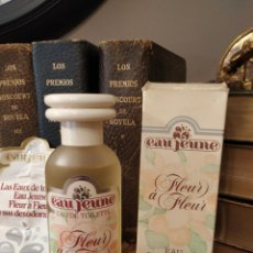 Miniaturas de perfumes antiguos: EAU JEUNE FLEUR A FLEUR - LOREAL PARIS 150 ML - ÚNICA VINTAGE ORIGINAL.. Lote 214664165