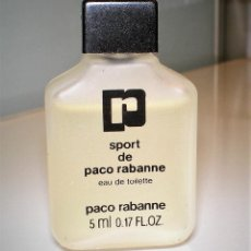 Miniaturas de perfumes antiguos: PERFUME MINIATURA, COLONIA DE PACO RABANE. Lote 215479933