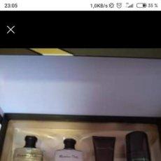 Miniaturas de perfumes antiguos: ESTUCHE COLONIA MÁXIMO DUTTI HOMBRE. Lote 215844490
