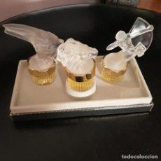 Miniaturas de perfumes antiguos: LALIQUE 3 MINIATURA DE PERFUME. Lote 217435953