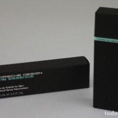 Miniaturas de perfumes antiguos: MINIATURA PORSCHE DESIGN THE ESSENCE EDT 15 ML. Lote 217606495