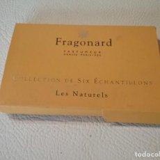 Miniaturas de perfumes antiguos: ESTUCHE CON 6 MINIATURAS DE PERFUME FRAGONARD GRASSE PARIS.. Lote 219611337