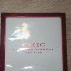 Miniaturas de perfumes antiguos: CHIC CAROLINA HERRERA 50 ML. PARFUMS. Lote 219864493