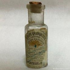 Miniaturas de perfumes antiguos: RHUM QUINQUINA, NINI BOTELLA. Lote 220103768