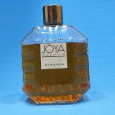 Miniaturas de perfumes antiguos: BOTELLA DE COLONIA - JOYA DE MYRURGIA, 16CM DE ALTURA. Lote 220837891