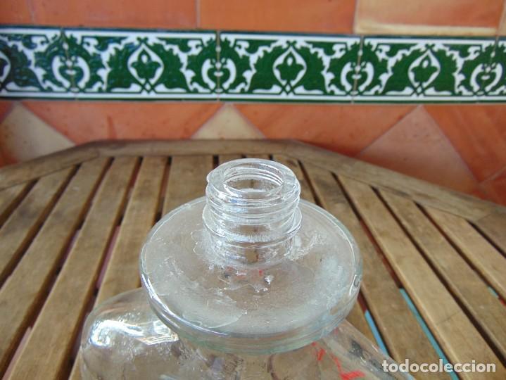 Miniaturas de perfumes antiguos: GRAN BOTELLA RECIPIENTE COLONIA PERFUME LAURA BIAGIOTTI VENEZIA EAU DEW TOILETTE CAPACIDAD 2 LITROS - Foto 7 - 220877981