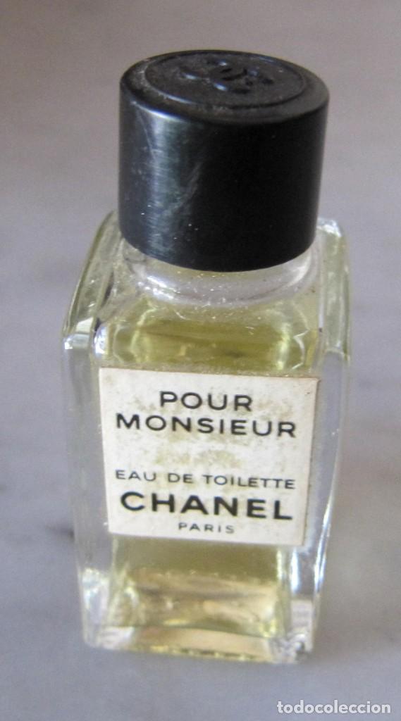 MINIATURA PERFUME CHANEL PARA HOMBRE MONSIEUR (Coleccionismo - Miniaturas de Perfumes)