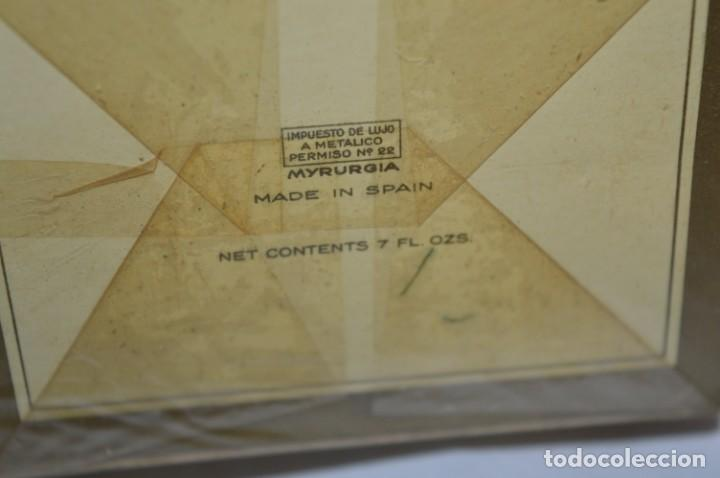 Miniaturas de perfumes antiguos: ANTIGUO FRASCO COLONIA - JOYA de MYRURGIA Ref 576 / 200 Ml NUEVA / CAJA - MADE IN SPAIN ¡Precintada! - Foto 3 - 220974785