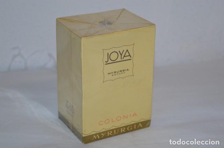 ANTIGUO FRASCO COLONIA - JOYA DE MYRURGIA REF 576 / 200 ML NUEVA / CAJA - MADE IN SPAIN ¡PRECINTADA! (Coleccionismo - Miniaturas de Perfumes)