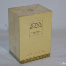 Miniaturas de perfumes antiguos: ANTIGUO FRASCO COLONIA - JOYA DE MYRURGIA REF 576 / 200 ML NUEVA / CAJA - MADE IN SPAIN ¡PRECINTADA!. Lote 220974785
