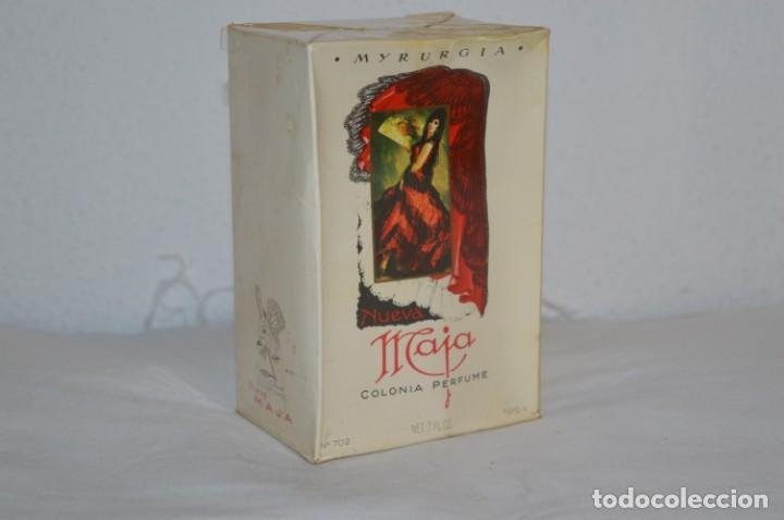 VINTAGE COLONIA/PERFUME - MAJA DE MYRURGIA REF 702 / 200 ML. NUEVA/CAJA - MADE IN SPAIN ¡PRECINTADA! (Coleccionismo - Miniaturas de Perfumes)