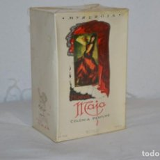 Miniaturas de perfumes antiguos: VINTAGE COLONIA/PERFUME - MAJA DE MYRURGIA REF 702 / 200 ML. NUEVA/CAJA - MADE IN SPAIN ¡PRECINTADA!. Lote 220978132