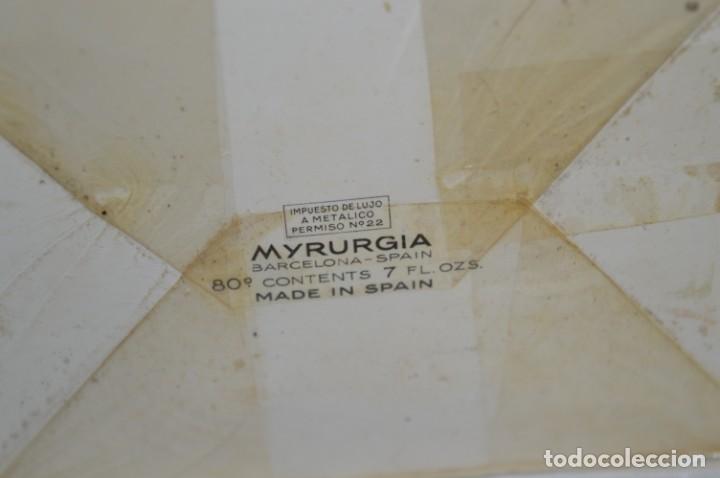 Miniaturas de perfumes antiguos: Vintage COLONIA/PERFUME - MAJA de MYRURGIA Ref 702 / 200 Ml. NUEVA/CAJA - MADE IN SPAIN ¡Precintada! - Foto 6 - 220978132