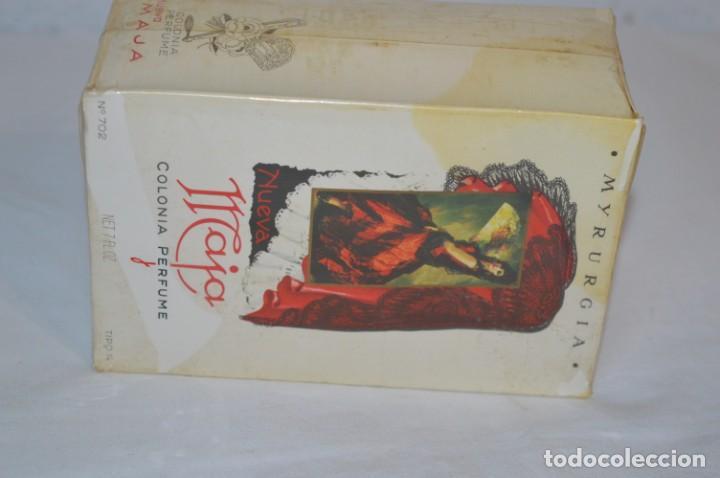 Miniaturas de perfumes antiguos: Vintage COLONIA/PERFUME - MAJA de MYRURGIA Ref 702 / 200 Ml. NUEVA/CAJA - MADE IN SPAIN ¡Precintada! - Foto 8 - 220978132