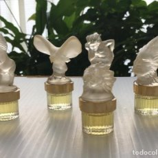 Miniaturas de perfumes antiguos: LALIQUE. LES MASCOTTES. EAU DE PARFUM. MINIATURA DE PERFUMES. Lote 221382000