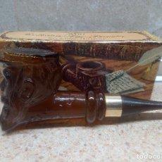 Miniaturas de perfumes antiguos: FRASCO PERFUME COLONIA AVON PIPA CAPITAN MARINO DE COLECCION EN SU CAJA ORIGINAL * LLENA *. Lote 221491372