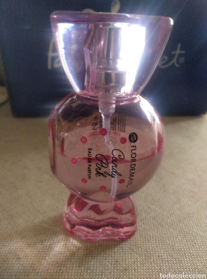 Miniaturas de perfumes antiguos: Candy Pink. Flor de Mayo. Eau de parfum. Llena a mitad - Foto 3 - 222119856