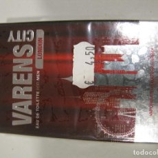 Miniaturas de perfumes antiguos: COLONIA ULRIC DE VARENS CITY LONDON FOR MEN EAU DE TOILETE 50ML. Lote 222186475