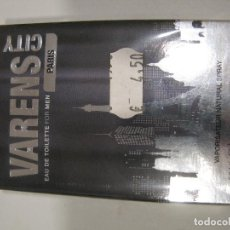 Miniaturas de perfumes antiguos: COLONIA ULRIC DE VARENS CITY PARIS FOR MEN EAU DE TOILETE 50ML. Lote 222186483