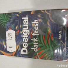 Miniaturas de perfumes antiguos: COLONIA DESIGUAL DARK FRESH MAN 15ML. Lote 222186511