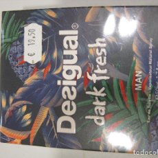 Miniaturas de perfumes antiguos: COLONIA DESIGUAL DARK FRESH MAN 50ML. Lote 222186512