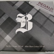 Miniaturas de perfumes antiguos: COLONIA ESTUCHE BRUMMEL COUPE EAUDE TOILETTE 125ML + AFTER SHAVE 125ML. Lote 222186576