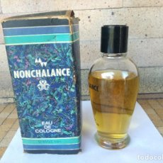 Miniaturas de perfumes antiguos: ANTIGUO PERFUME VINTAGE NONCHALANCE EAU DE COLOGNE 175ML MADE IN WEST GERMANY Nº93640 CAJA ORIGINAL. Lote 222292251