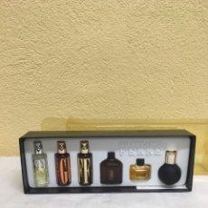 Miniaturas de perfumes antiguos: CAJA COLONIA GIANFRANCO FERRE 5 MINIATURAS. Lote 222302261