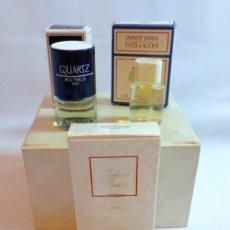 Miniaturas de perfumes antiguos: LOTE DE MINIATURAS DE PERFUMES Y COLONIAS. Lote 223856498