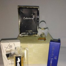 Miniaturas de perfumes antiguos: LOTE DE MINIATURAS DE PERFUMES Y COLONIAS. Lote 223857151