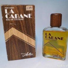 Miniaturas de perfumes antiguos: FRASCO DE COLONIA LA CABANE DE ASTOR // DE ANTIGUA PERFUMERIA DESCATALOGADA. Lote 223977618