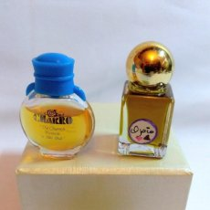 Miniaturas de perfumes antiguos: LOTE DE PERFUMES,FRAGANCIAS O EAU DE TOILETTE MINIATURA. Lote 223983472