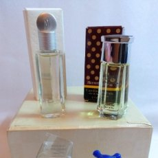 Miniaturas de perfumes antiguos: LOTE DE PERFUMES,FRAGANCIAS O EAU DE TOILETTE MINIATURA. Lote 223984630