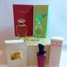 Miniaturas de perfumes antiguos: LOTE DE PERFUMES,FRAGANCIAS O EAU DE TOILETTE MINIATURA. Lote 223985417