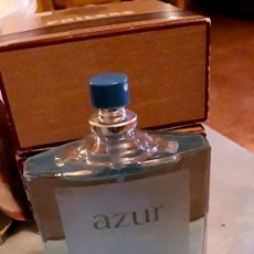 Miniaturas de perfumes antiguos: AZUR DE PUIG 100 ML.. Lote 244430390