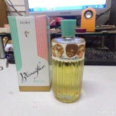 Miniaturas de perfumes antiguos: COLONIA PERFUME BLANCAFLOR BALAVI S.L. VINTAGE NUEVO RESTO TIENDA. Lote 226905925