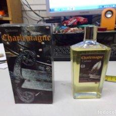 Miniaturas de perfumes antiguos: COLONIA PERFUME CHARLEMAGNE PERFUMES IREBA. VINTAGE NUEVO RESTO TIENDA. Lote 227078980