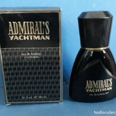 Miniaturas de perfumes antiguos: ADMIRAL´S YACHTMAN EAU DE TOILETTE POUR HOMME, 100ML, MAS COSMETICS. Lote 227881005