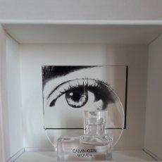 Miniaturas de perfumes antiguos: MINIATURA DE PERFUME CALVIN KLEIN WOMEN. Lote 229190520