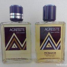 Échantillons de parfums anciens: COLONIA AGRESTE 200 ML ES UN POVADOR + AFTER SHAVE 200 ML - LLENOS SIN USAR - GAL. Lote 229450180