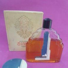 Miniaturas de perfumes antiguos: LOTE MADERAS DE ORIENTE 500ML O 1/2L Y POLVERA ,AÑOS 1940-50. Lote 231802230
